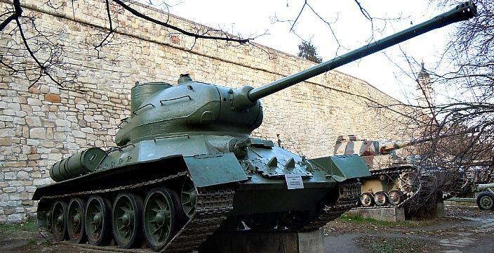 Vozilo-A Югославский танк середины ХХ века
