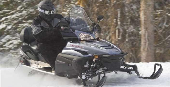 Yamaha RS Venture GT-TF туристический снегоход