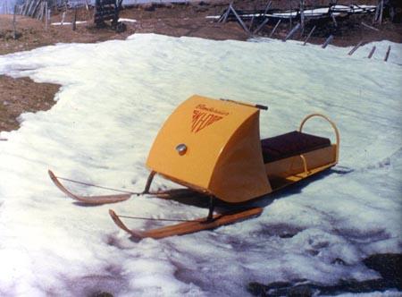 Первые снегоходы от Канадской Бомбардье
