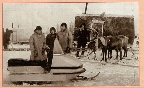 Снегоход Буран надежный помощник Народов Севера