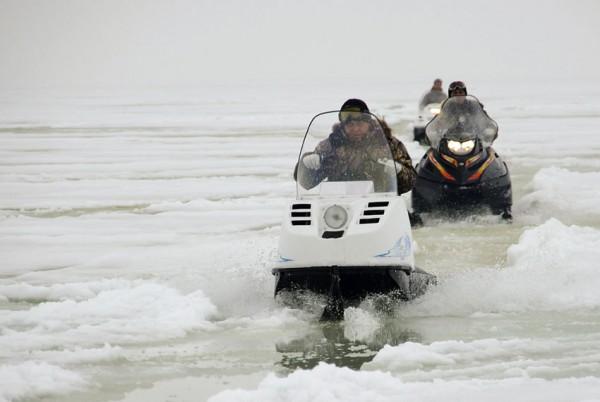 Снегоход Буран - легендарная проходимость!