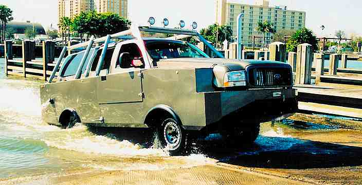 H2OEX Extreme на базе Ford Expedition от Cool Amphibious Manufacturing Incorporated LLC