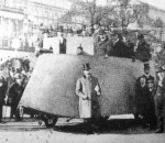 Simms Motor War Car - прадедушка бронетранспортёров. Лондон 1902