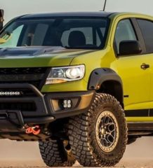 chevrolet colorado zr2 2020